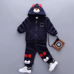Picture of Cute Bear Longsleeve Sweater and Pants Set