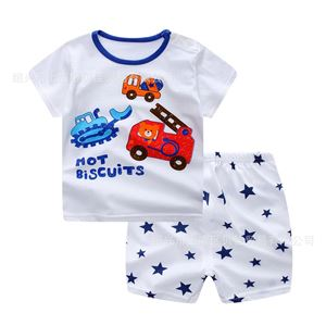 Picture of Baby Summer Short Sleeve Shorts Suit Two-Piece Set