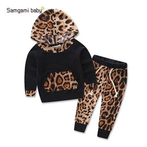Picture of Leopard Design Casual Long sleeve Set Two-Pieces