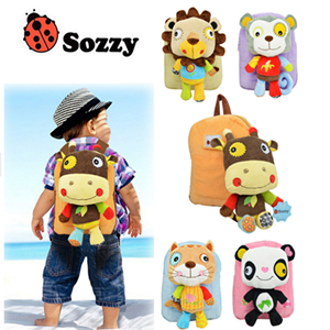 Picture of Adorable Assorted Animal Doll Backpack for Kids Child