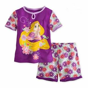 Picture of Little Mermaid Tee with Pants Girl Casual Wear Set