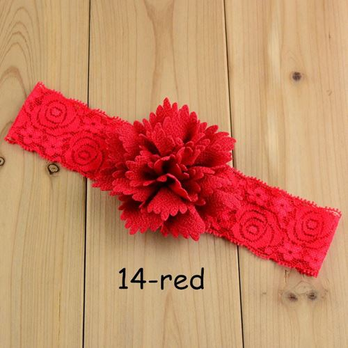 Picture of Delightful Floral Design Headband for Baby Toddler Girl