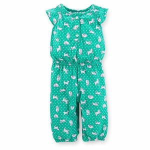 Picture of Adorable Green Patterned Carter's Jumper Suit