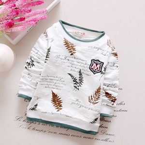 Picture of Adorable Trendy Leaf Long Sleeve Unisex Shirt