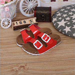 Picture of Red with White Kids Sandal Slipper