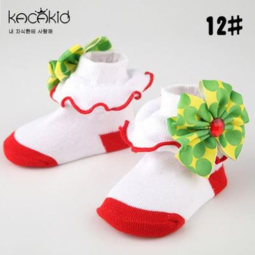 Picture of Adorable Patterned Design Sock for Baby Infant Girls