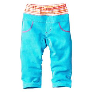 Picture of Stylish Soft Cotton Blue Long Pants for Boys