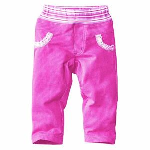 Picture of Stylish Soft Cotton Pink Long Pants for Girls