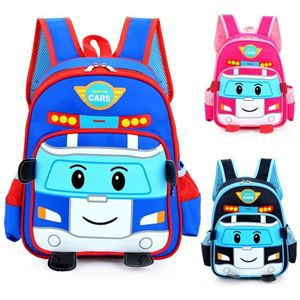 Picture of Adorable Robocar Poli Backpack for Children