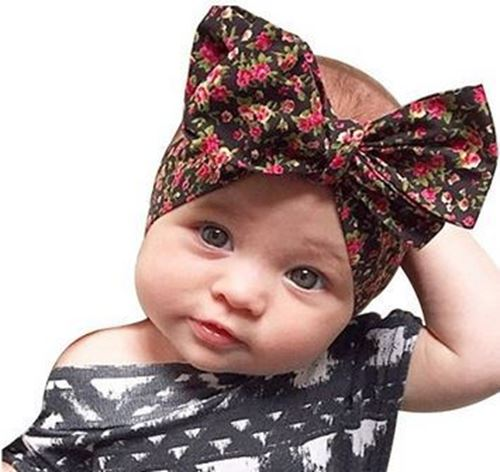 Picture of Trendy Floral and Ribbon Korea Headband