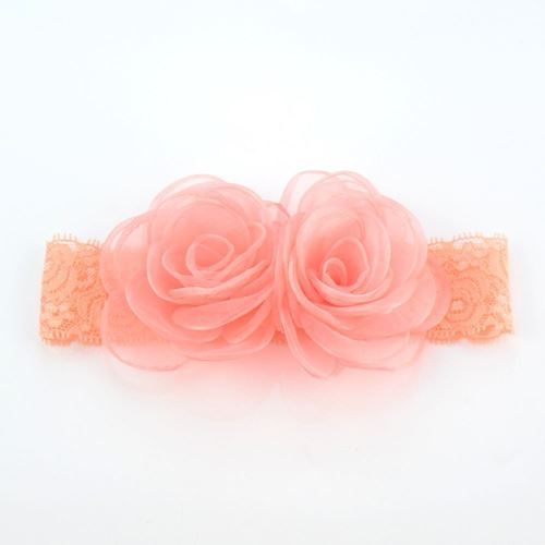 Picture of Delightful Floral Headband for Baby Girls Toddler