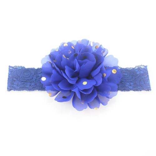 Picture of Delightful Floral Patterned Headband for Baby Girl Infant