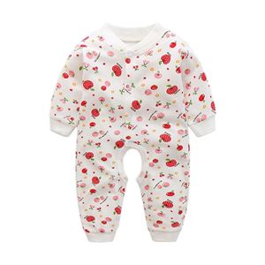 Picture of Adorable Sweet Red Cherry Baby Girl Romper