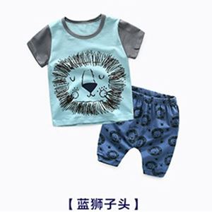 Picture of Unique Cartoon Print Top and Pants for Boy Set