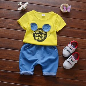 Picture of Cuddly Mickey Tee Short Sleeve  with Pants for Boy