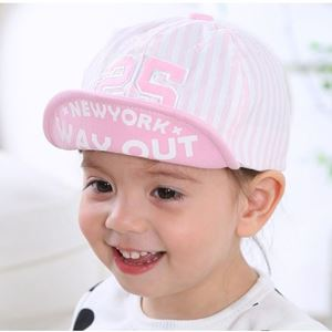 Picture of Fashion Number with Stripes Design Baby Kids Toddler Hat