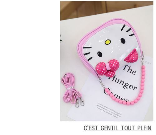 Picture of Sweet Assorted Colour Hello Kitty Sling Bag for Kids