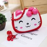 Picture of Sweet Assorted Colour Kitten Sling Bag for Kids