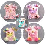 Picture of 5 Pieces Pretty Kids Baby Girl Hair Accessory Clip Set