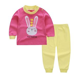 Picture of Rabbit with Long Pants Pyjamas Sleepwear Set