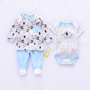 Picture of Adorable Elephant Unisex Baby Romper (3in1)