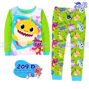Picture of J2 Baby Shark Pyjamas Sleepwear Set 8-12y (Big Size)