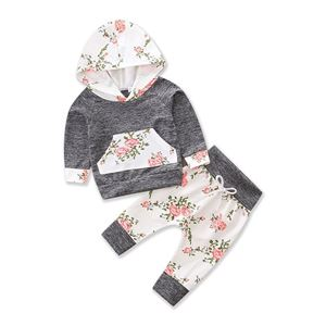 Picture of Floral Design Casual Long Sleeve Set Two-Pieces