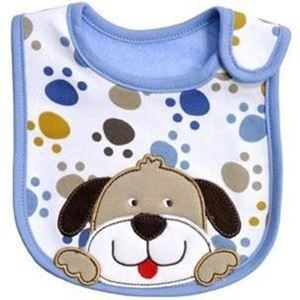 Picture of Kids Infant Baby Feeding Head Scarf Towel Bib