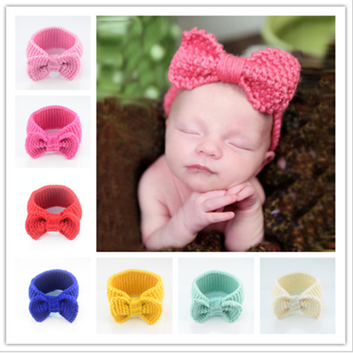Picture of Big Adorable Ribbon Headband for Baby Girls Toddler