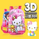 Picture of Delightful 3D Cartoon Backpack for Kids Child