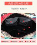 Picture of Floral Mummy Bag Fashion Hit Color Oxford Bag