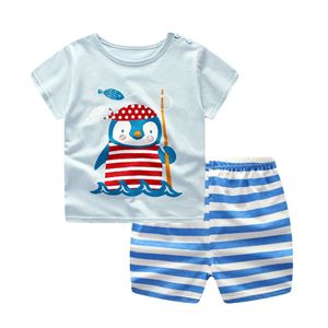 Picture of Little Penguin Short Sleeve Casual Wear Boy Clothing Set