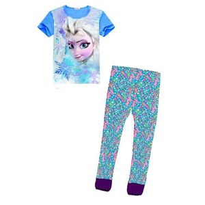 Picture of H3M Frozen Girls with Long Pants Pyjamas Set