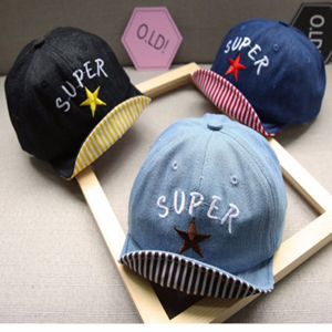 Picture of Design Super Star Baby Kids Cap Sun Hat