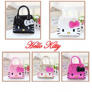 Picture of Fashion Adorable Hello Kitty Handbag&Sling Bag for Kids Girls