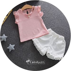 Picture of Design Lotus Short Sleeve For Girl Clothing Set