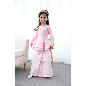 Picture of Muslimah Fashion Kurung Peplum Dress Set(Big Size)