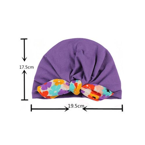 Picture of Europe Stylist  Turban Fashion  Flora Rabbit Head Cap For Baby Girl
