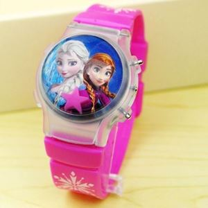 Picture of Ocean Feeling Cartoon Jelly Belt Watch With Lighting For Girl