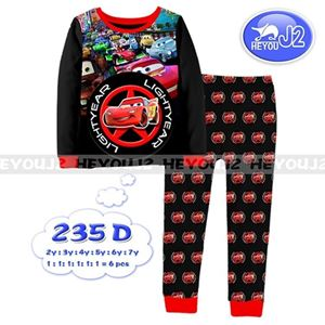 Picture of 2-Piece Car Printed Casual Wear&Pyjamas Clothing Set (2-7y)