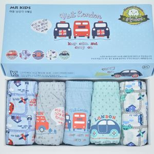 Picture of Korean Children Design Visit London Cotton Panties Gift Box Set