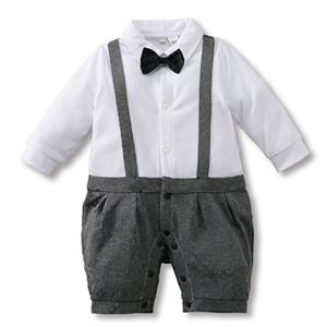 Picture of Stylish Bow Baby Boy Suit Romper One-Piece Jumpsuit Clothes