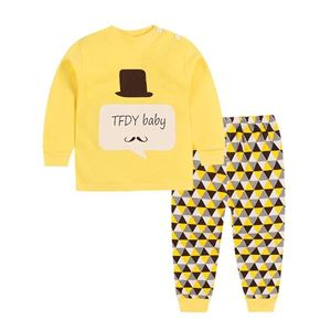 Picture of Hat Pattern Top With Long Pant Pyjamas Set