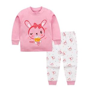 Picture of Rabbit Pattern Top With Long Pant Pyjamas Set