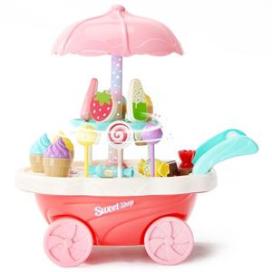 Picture of Ice-Cream Trolley Candy Home Toys with Lighting Music