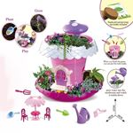 Picture of STEM DIY Fairy Garden House with Lighting & Music Planting Magic Pot Toy