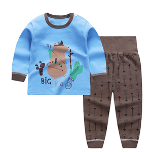 Picture of Bear Pyjamas Sleepwear High Waist Bellyband Pants
