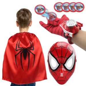 Picture of Super Hero Mask with Cape Cloak and Launcher Set