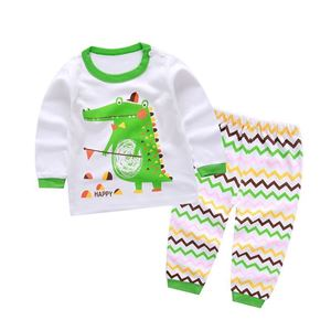 Picture of Crocodile Pattern Pyjamas Sleepwear Set