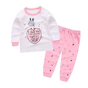 Picture of Cute Rabbit Pattern Pyjamas Sleepwear Set